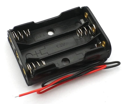 3 AAA Cell Battery Holder from PMD Way with free delivery worldwide