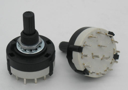 3 Pole 4 Position Rotary Switches in packs of two from PMD Way with free delivery worldwide