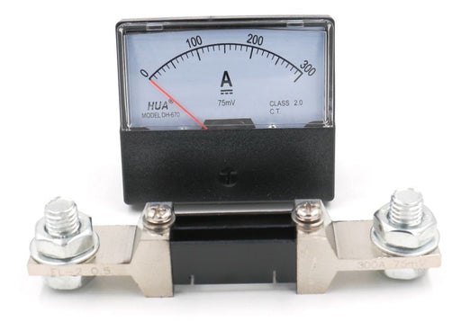 DH-670 Analog DC Ammeter Current Meter 0~300A DC with Shunt from PMD Way with free delivery worldwide