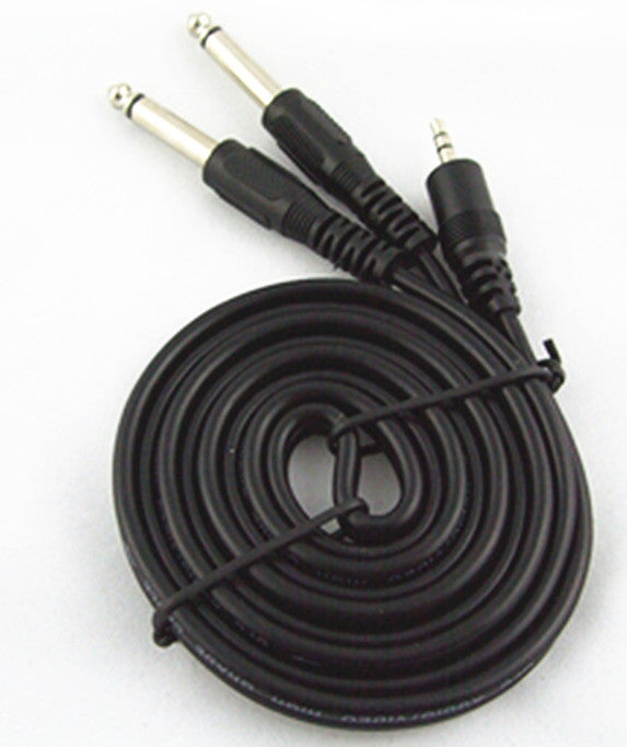Useful 3.5mm Stereo Plug to Twin 6.35mm Mono Plug Cable from PMD Way with free delivery worldwide