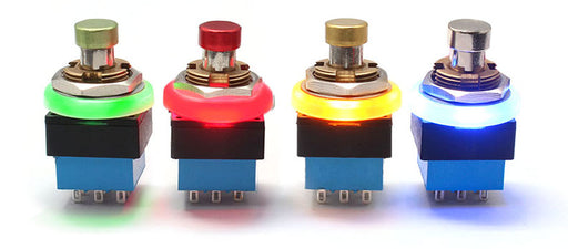 Illuminated 3PDT 3A 250VAC Foot Switches from PMD Way with free delivery worldwide