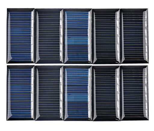 3V 30mA Solar Panels in packs of ten from PMD Way with free delivery worldwide