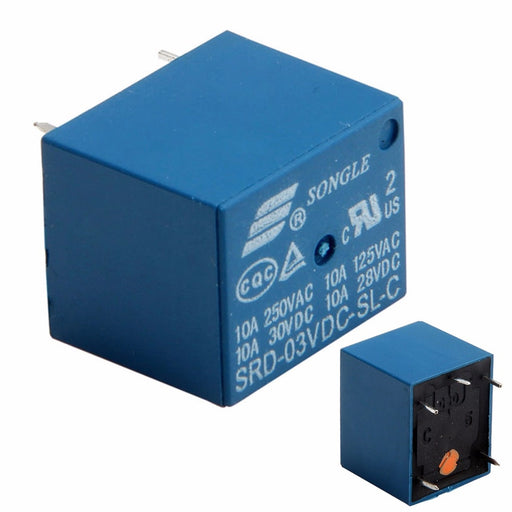 3V Songle SPDT Relays from PMD Way with free delivery worldwide