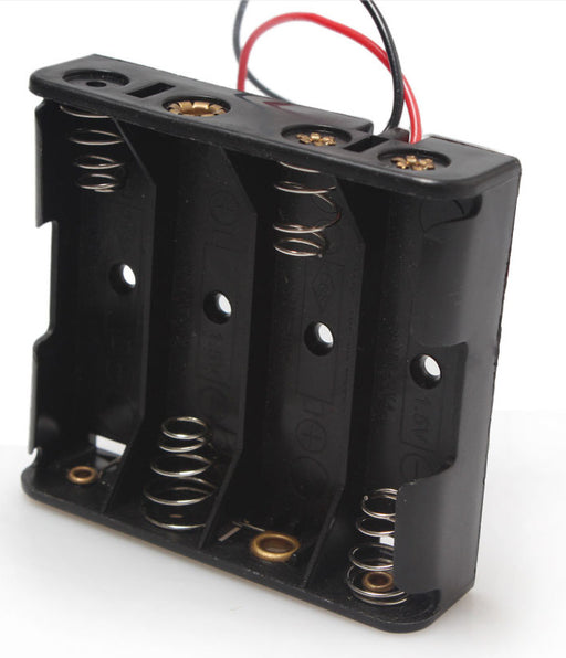 4 AA Cell Battery Holder from PMD Way with free delivery worldwide