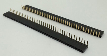 40x1 Pin Female Right Angle Header Strip - 100 Pack from PMD Way with free delivery worldwide