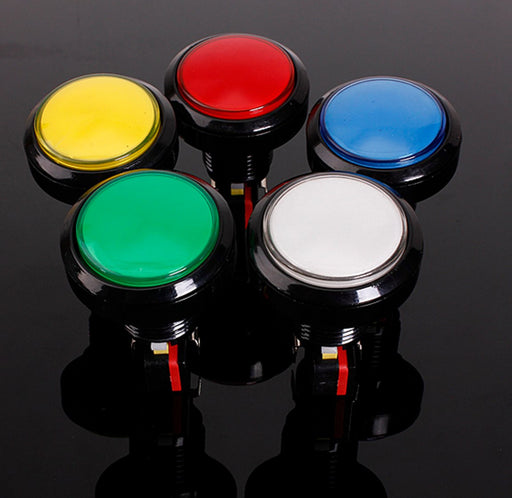 45mm Illuminated Arcade Buttons in five colors from PMD Way with free delivery worldwide
