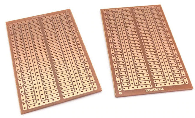 Single Sided 45x70mm Prototyping PCB - Twin Pack from PMD Way with free delivery worldwide