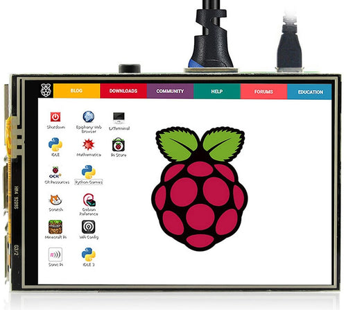 "3.5"" 480 x 320 TFT LCD Touch Screen for Raspberry Pi from PMD Way with free delivery worldwide"