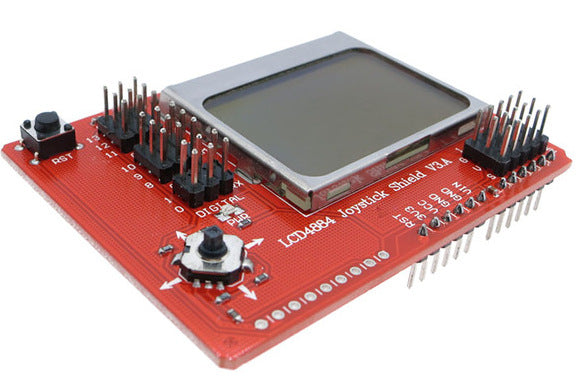 Create value user-interfaces for your project with the Graphic LCD Joystick Shield for Arduino from PMD Way with free delivery, worldwide
