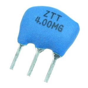 Quality 4Mhz 3 Pin Ceramic Resonators in packs of twenty from PMD Way with free delivery worldwide