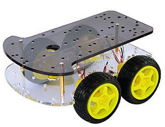 4WD Robot Vehicle Chassis for Arduino and more from PMD Way with free delivery worldwide