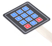 4 x 3 Sealed Membrane Keypad in packs of five from PMD Way with free delivery worldwide