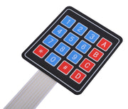 4 x 4 Sealed Membrane Keypads in packs of five from PMD Way with free delivery worldwide