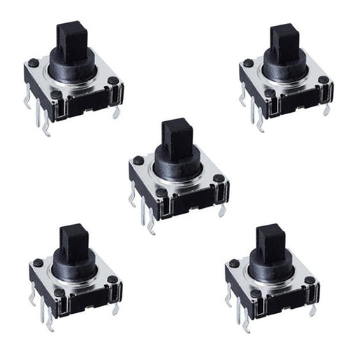 5-Way Tactile Switches in packs of five from PMD Way with free delivery worldwide