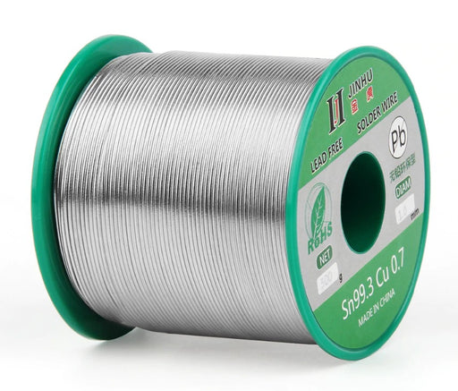 Lead Free Tin Copper Solder - Various Diameters - 500g Roll from PMD Way with free delivery worldwide