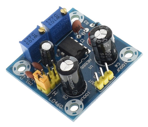Experiment with outputs from 555 timer with the 555 Timer IC Breakout Board from PMD Way with free delivery worldwide