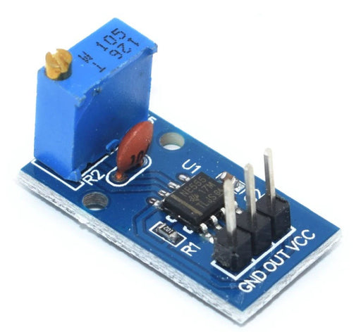 555 Adjustable Frequency Pulse Generator Modules in packs of two from PMD Way with free delivery, worldwide