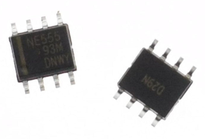 555 Timer SMD SOP8 ICs in packs of 100 from PMD Way with free delivery worldwide