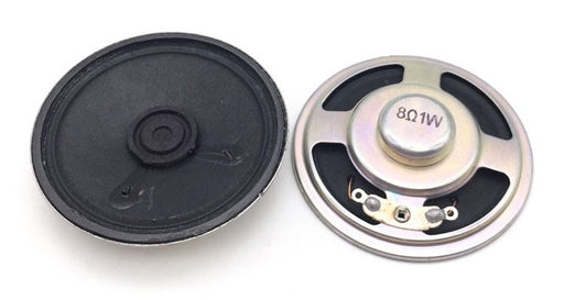 57mm 8 Ohm 1 Watt Speaker - Twin Pack from PMD Way with free delivery worldwide