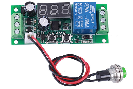 5V DC Timer Relay with External Trigger Button
