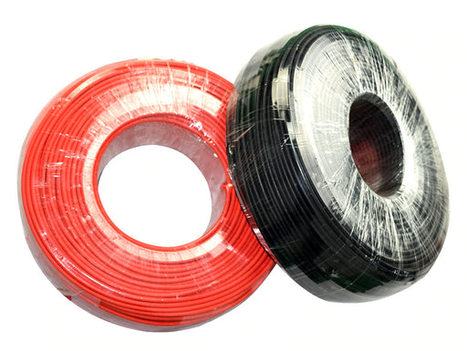 Solar PV Installation Cable - 5m red and black from PMD Way with free delivery worldwide