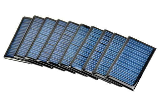 5V 60mA Solar Panels in packs of ten from PMD Way with free delivery worldwide