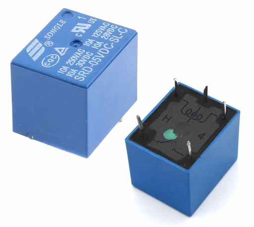 Songle 5V SPDT Relays from PMD Way with free delivery worldwide