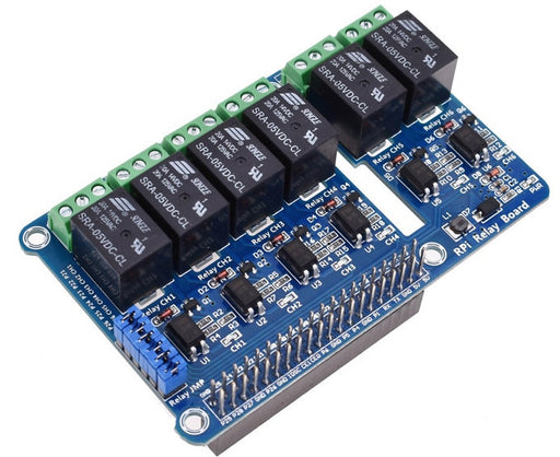 Six Channel Relay Board for Raspberry Pi from PMD Way with free delivery worldwide
