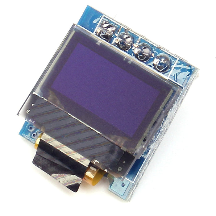 "Amazing tiny 0.49"" graphic OLED display for your Arduino, Raspberry Pi or other platform with I2C interface - from PMD Way"