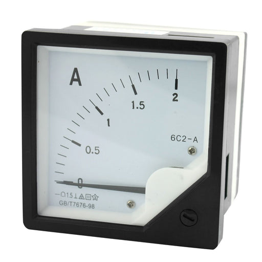 6C2 Analog DC Amp Current Meters - Various Ranges from PMD Way with free delivery worldwide