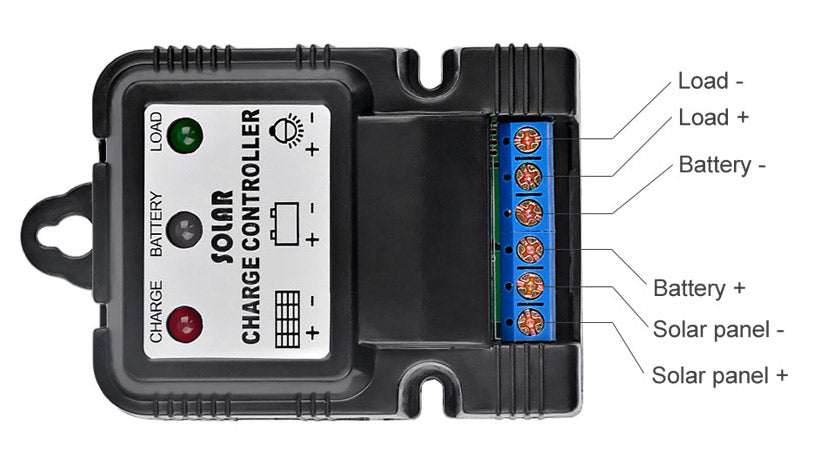 6V 12V 10A Solar Charge Controller from PMD Way with free delivery worldwide