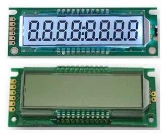 Eight Digit Seven Segment LCD Module from PMD Way with free delivery worldwide