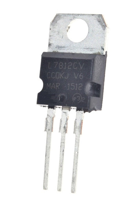 7812 TO-220 12V Voltage Regulators in packs of 100 from PMD Way with free delivery worldwide