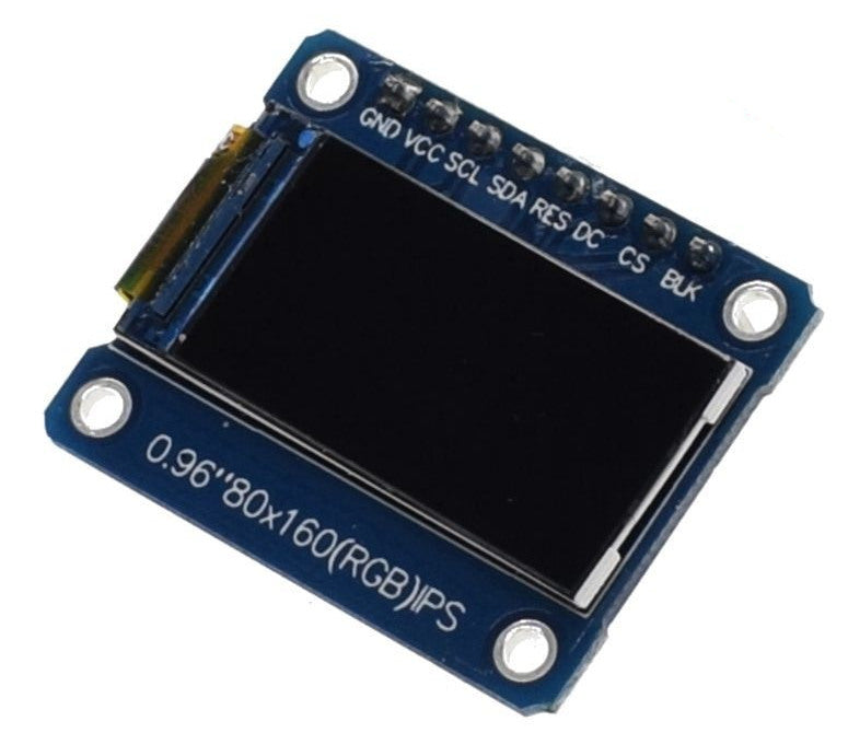 "0.96"" 80 x 160 Full Color LCD Module from PMD Way with free delivery worldwide"
