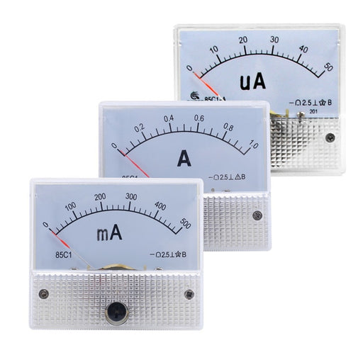 85C1 Analog DC Amp Current Meter - Various Ranges from PMD Way with free delivery worldwide