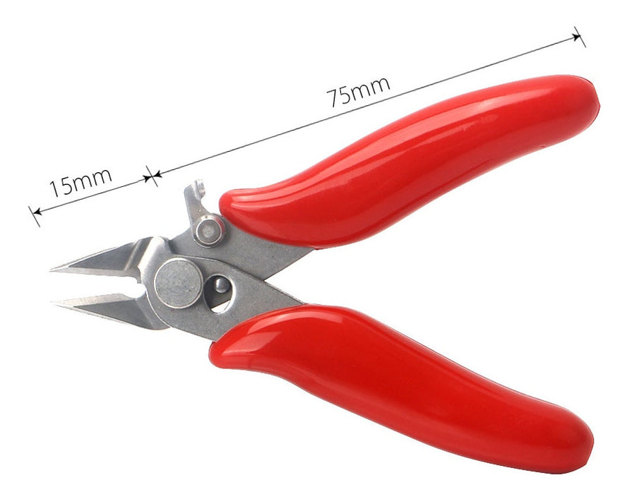 90mm Mini Diagonal Flush Cutters from PMD Way with free delivery worldwide