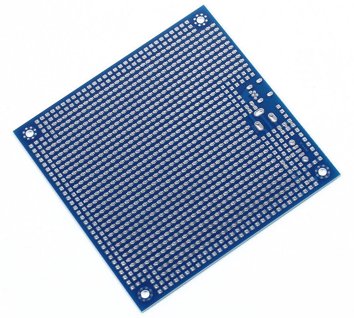 Double Sided 9.5x9.5cm SMD Friendly Prototyping PCB with Power Circuit from PMD Way with free delivery worldwide