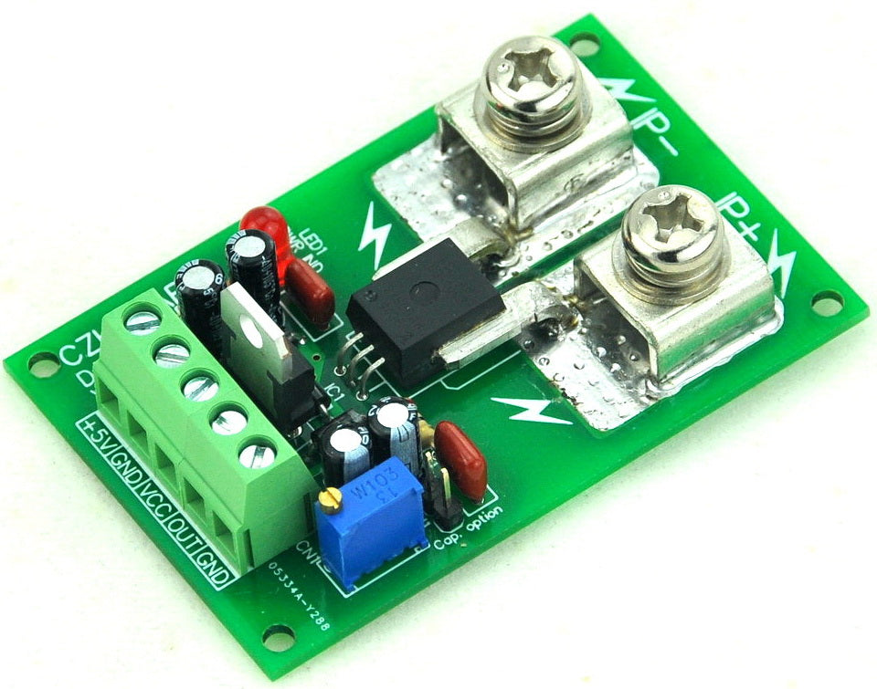 Measure large currents with the ACS758 +/-100 Amp AC/DC Current Sensor Module from PMD Way with free delivery worldwide