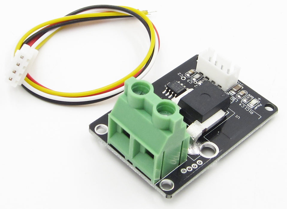 Measure large current with the Compact Panel Mount ACS758 +/-100 Amp AC/DC Current Sensor Board from PMD Way with free delivery worldwide