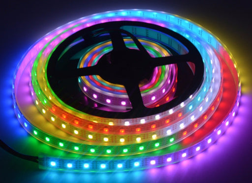 APA102 Addressable Color RGB LED Strip - 60 LEDs/m in packs of 20m from PMD Way wtih free delivery via DHL worldwide