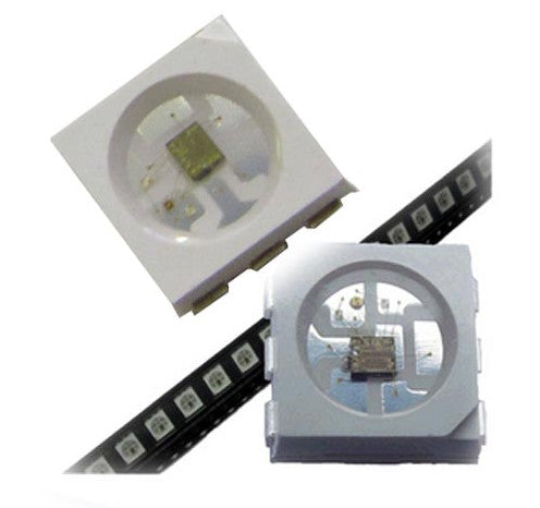 APA102 Addressable RGB SMD 5050 LEDs in various quantities from PMD Way with free delivery worldwide