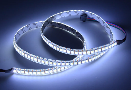 APA102 White LED Addressable RGB Strip - 144 LED/m - 1m from PMD Way with free delivery worldwide