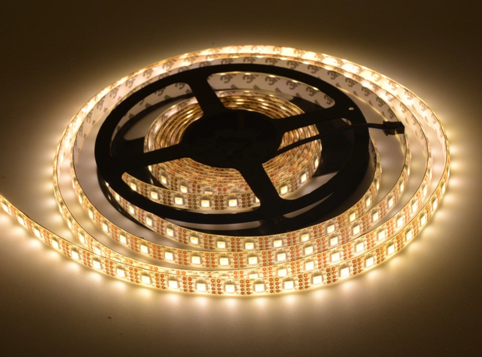APA102 White LED Addressable RGB Strip - 60 LED/m - 5m Roll from PMD Way with free delivery worldwide