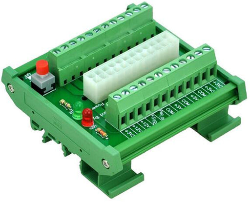 Useful 24/20-pin ATX DC Power Supply DIN Mount Breakout Board from PMD Way with free delivery worldwide