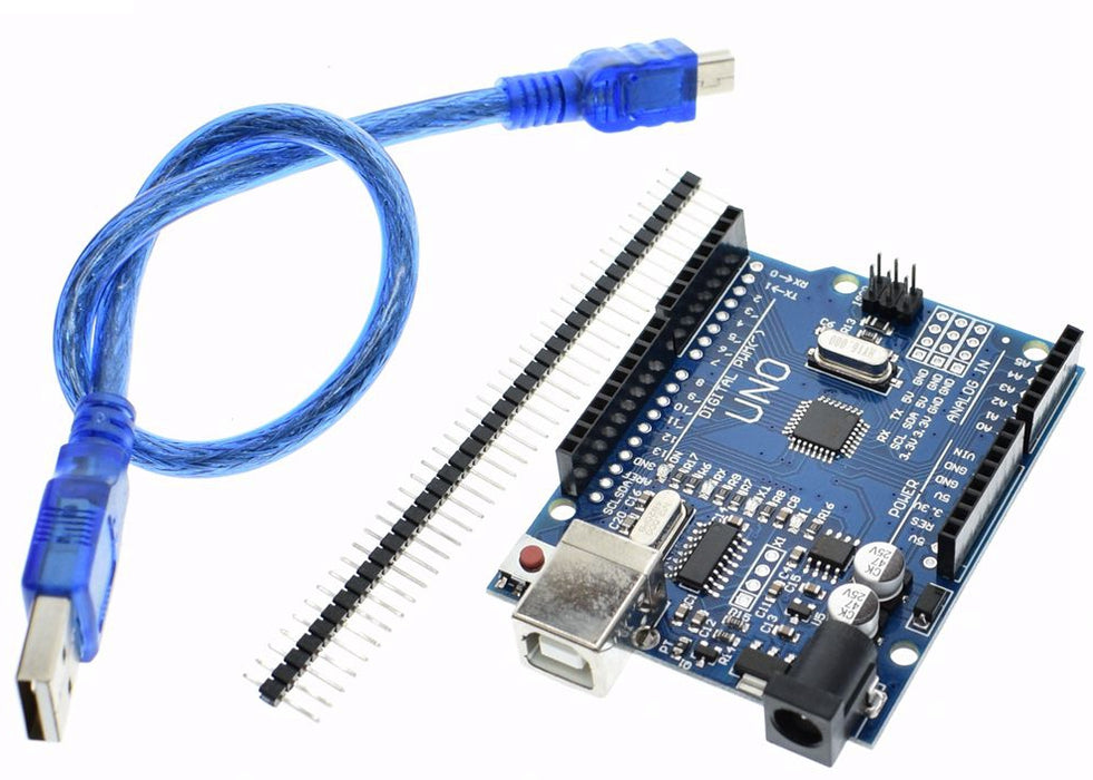 Value Arduino Uno Compatible Board with USB Cable from PMD Way with free delivery, worldwide