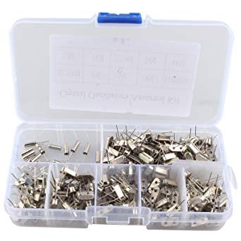 Great value Assorted Crystal Oscillator Kit with 200 Pieces from PMD Way with free delivery worldwide