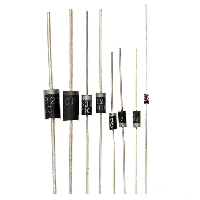 Assorted Power Rectifier Diode Pack - 100 Pieces