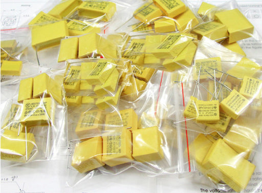 Great value Assorted X2 Safety Capacitor Kit - 70 Pieces from PMD Way with free delivery worldwide