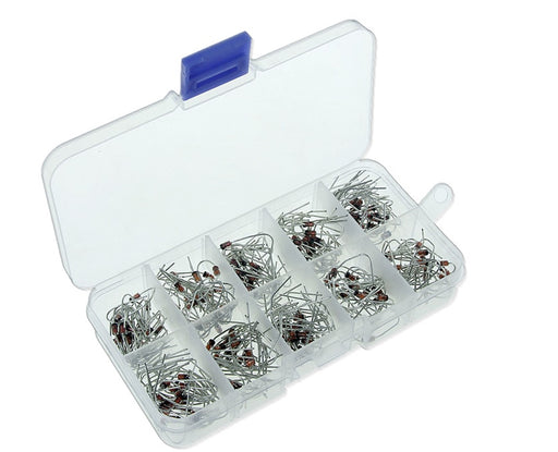 Great value Assorted Zener Diode Box with 200 pieces from PMD Way with free delivery worldwide