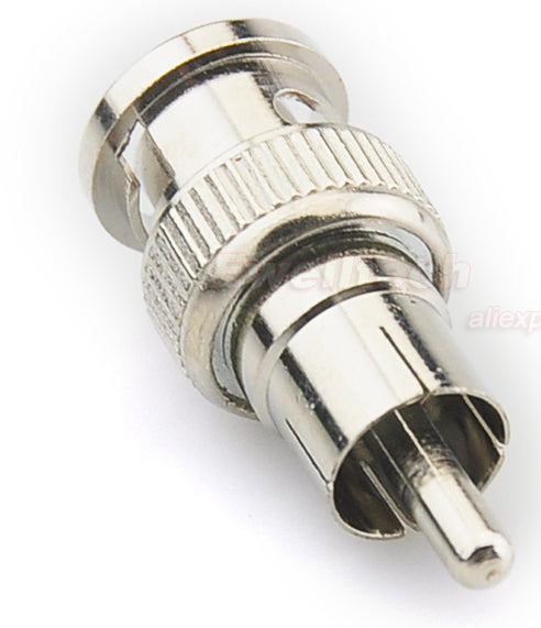 Quality BNC Male to RCA Male Adaptors from PMD Way with free delivery worldwide